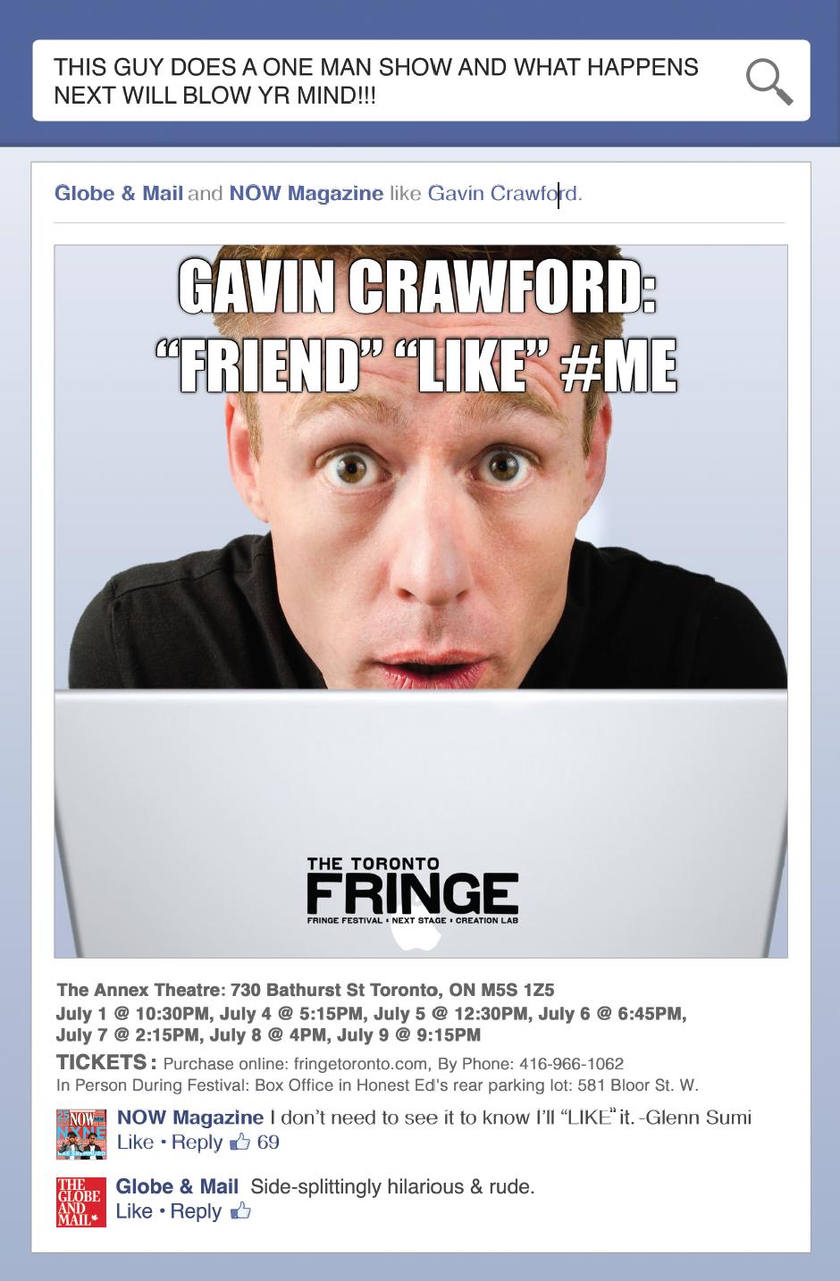 Gavin Friend Like Me